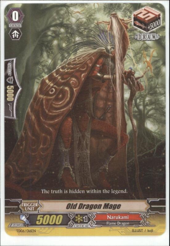 Old Dragon Mage - TD06/016EN