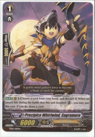 Precipice Whirlwind, Sagramore - TD05/010EN