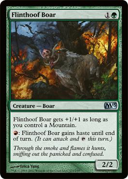 Flinthoof Boar - Foil