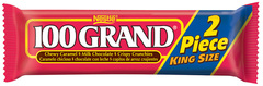 100 Grand Candy Bar King Size 2.8oz 24ct