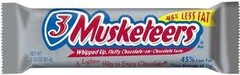 Three 3 Musketeers Candy Bar Countgood 36ct