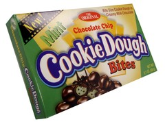 Cookie Dough Bites Mint 3.1oz 30ct Theatre Box