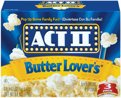 ACT 2 Butter Lover 3-Pack 12ct