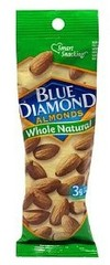 Blue Diamond Almonds Whole Natural 1.5oz 12ct