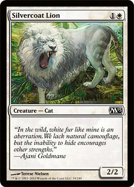 Silvercoat Lion - Foil