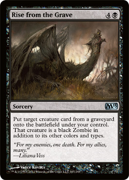 Rise from the Grave - Foil