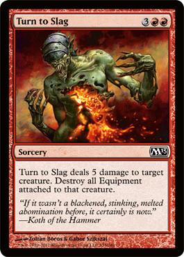 Turn to Slag - Foil