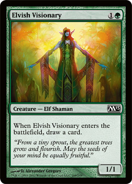 Elvish Visionary - Foil