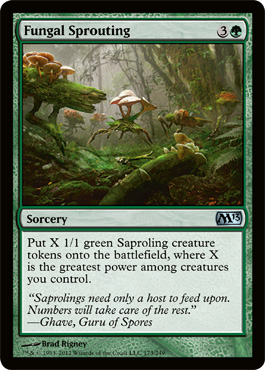 Fungal Sprouting - Foil