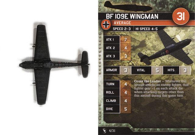 Bf 109E Wingman