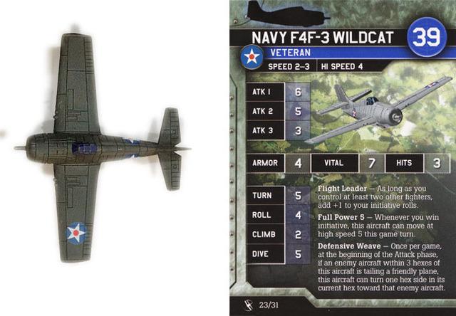 Navy F4F-3 Wildcat