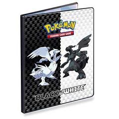 Black & White Generic V5 9-Pocket Portfolio for Pokemon