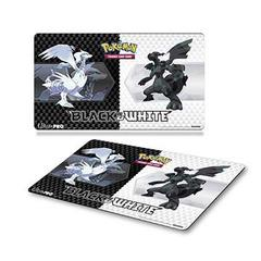 Black & White Generic V5 Play Mat for Pokemon