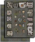 Pathfinder GameMastery Flip-Mat: City Market