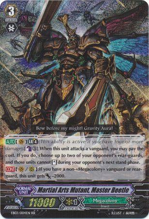 Martial Arts Mutant, Master Beetle - EB03/004EN - RR