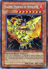 Sacred Phoenix of Nephthys - EEN-ENSE3 - Secret Rare - Limited Edition