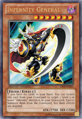 Infernity General - YF03-EN001 - Ultra Rare - Limited Edition