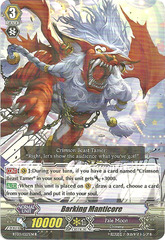 Barking Manticore - BT03/027EN - R on Channel Fireball