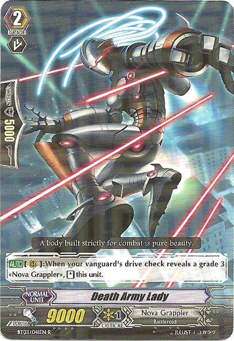 Death Army Lady - BT03/041EN - R