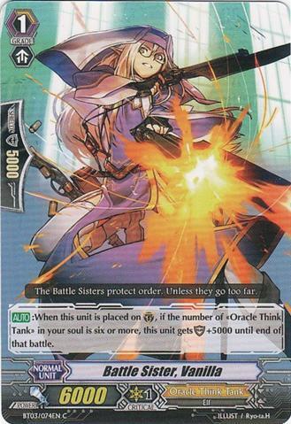 Battle Sister, Vanilla - BT03/074EN - C