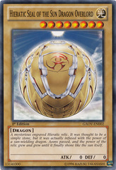 Hieratic Seal of the Sun Dragon Overlord - GAOV-EN002 - Common - Unlimited Edition