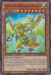 Hieratic Dragon of Sutekh - GAOV-EN025 - Ultra Rare - Unlimited Edition