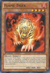 Flame Tiger - GAOV-EN039 - Common - Unlimited Edition