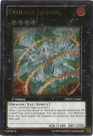 Evolzar Laggia - PHSW-EN043 - Ultimate Rare - Unlimited Edition