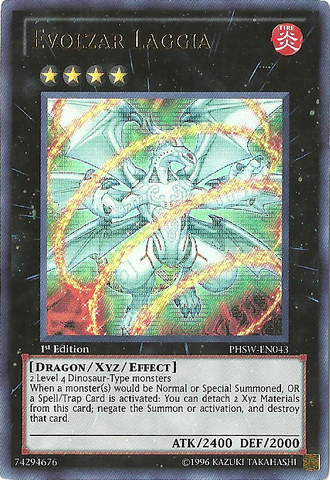 Evolzar Laggia - PHSW-EN043 - Ultra Rare - Unlimited Edition