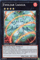Evolzar Laggia - CT09-EN011 - Super Rare - Limited Edition - Promo