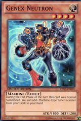 Genex Neutron - CT09-EN005 - Super Rare - Limited Edition on Channel Fireball