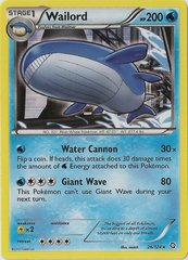 Wailord - 26/124 - Holo Rare on Channel Fireball