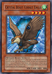 Crystal Beast Cobalt Eagle - FOTB-EN006 - Common - 1st Edition on Channel Fireball