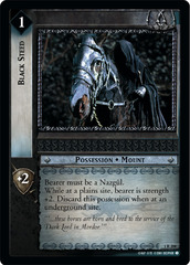 Black Steed - Foil