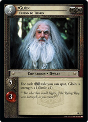 Gloin, Friend to Thorin - Foil