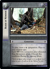 Blood of Numenor - 2U31 - Foil