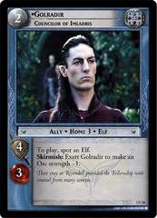 Golradir, Councilor of Imladris - Foil