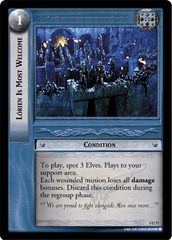 Lorien Is Most Welcome - Foil