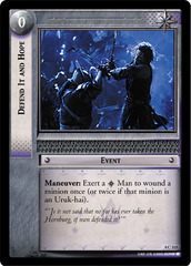 Defend It and Hope - Foil