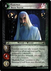 Saruman, Black Traitor - Foil