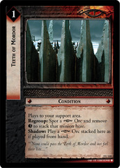 Teeth of Mordor - Foil