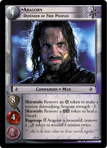 Aragorn, Defender of Free Peoples - Foil
