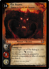 The Balrog, Terror of Flame and Shadow - Foil