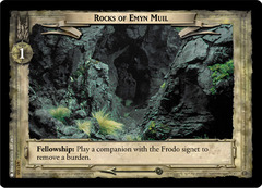 Rocks of Emyn Muil - Foil
