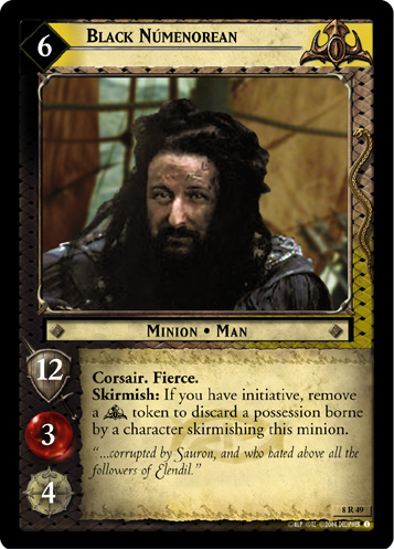 Black Captain Moderately Played LOTR: The Witch-king Siege of Gondor Lord of
