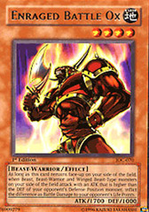 Enraged Battle Ox - IOC-070 - Rare - 1st Edition