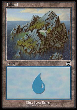 Island (336) - Foil