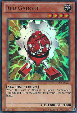 Red Gadget - TU08-EN003 - Super Rare - Unlimited Edition