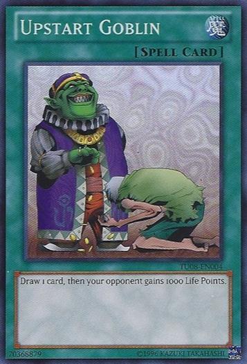 Upstart Goblin - TU08-EN004 - Super Rare - Unlimited Edition