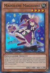Madolche Magileine - REDU-EN024 - Super Rare - 1st Edition on Channel Fireball